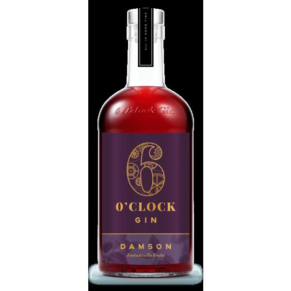 6 O'clock Gin - Damson Gin bottle
