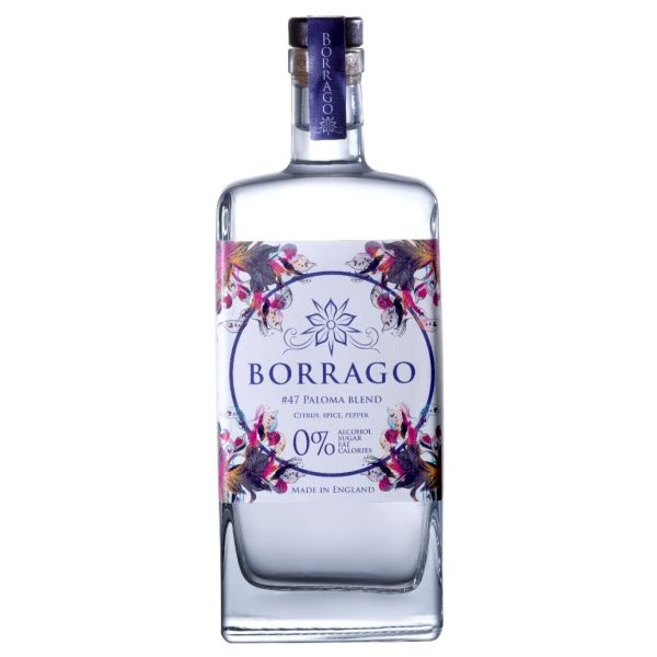 Borrago - Paloma Blend - 0 alcohol - bottle