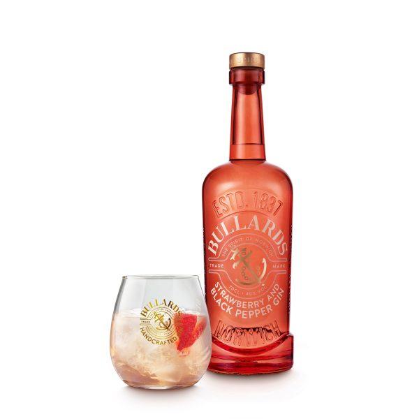 Bullards - Strawberry & Black Pepper Gin - Bottle