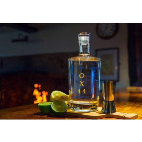 Chalgrove Artisan Distillery - OX44 bottle on table - 700ml
