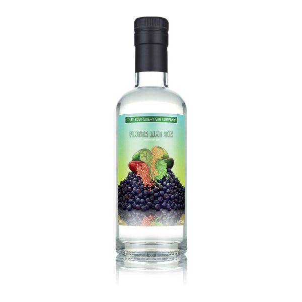 Finger Lime Gin bottle