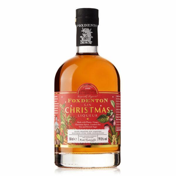 Foxdenton Christmas Liqueur bottle