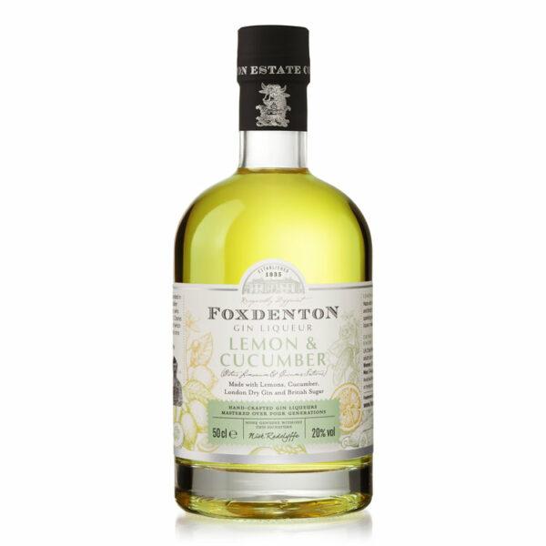 Foxdenton - Lemon & Cucumber bottle