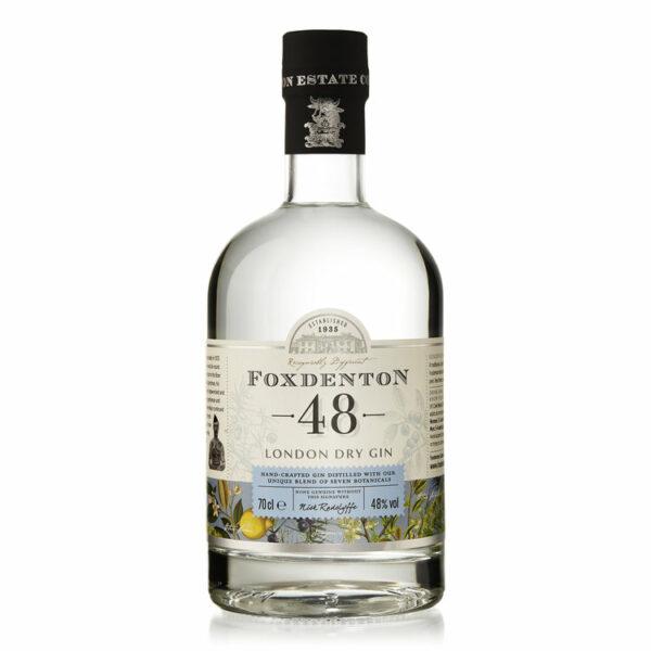 Foxdenton - London Dry Gin bottle