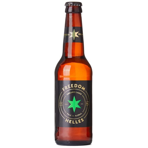 Freedom Brewery - Helles Organic Lager bottle