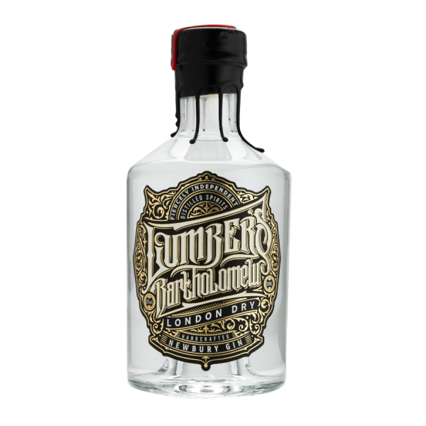 Lumber's Bartholomew London Dry Gin Bottle