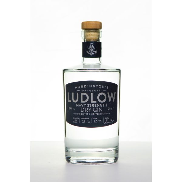 Ludlow Gin - Navy Strength bottle