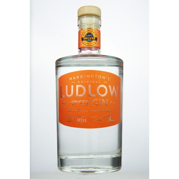 Ludlow Gin - No. 3 Spiced bottle