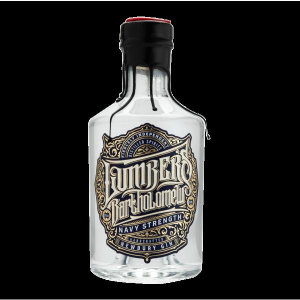 Lumber's Bartholomew Navy Strength Gin Bottle