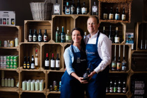Kevin and Petra Durrant at the Hatchery, BeerGinVino
