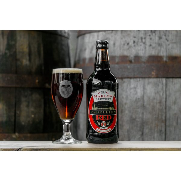 Rebellion Red Ale bottle