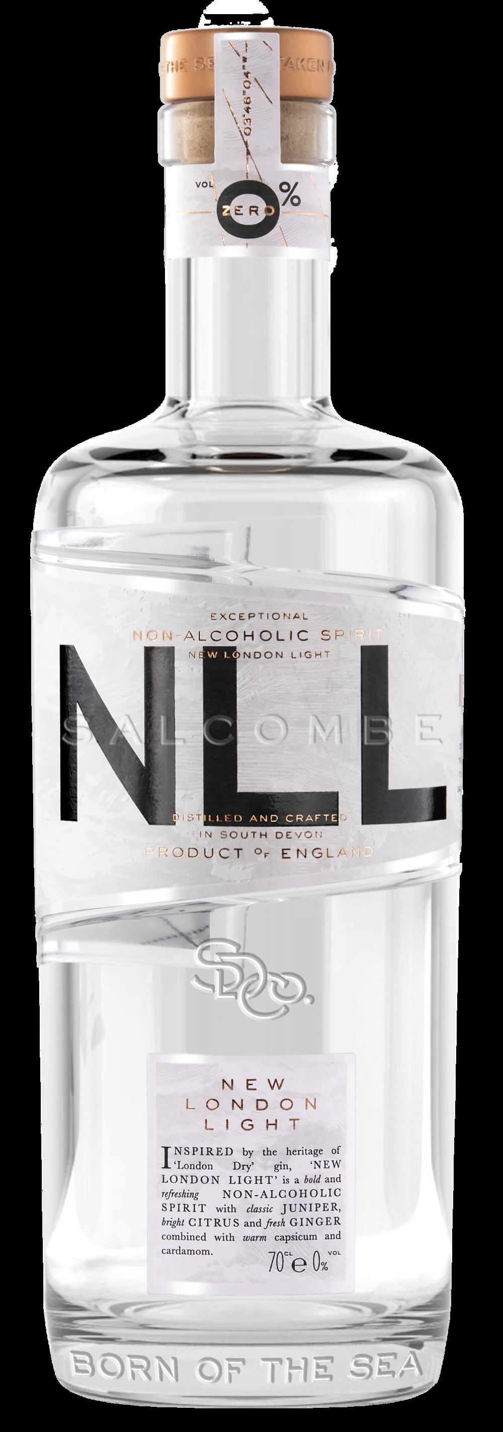 Salcombe Gin - New London Light - 0 Alcohol - Bottle