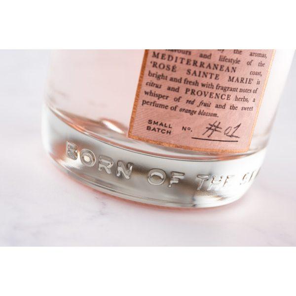 Salcombe - Rose Sainte Marie Gin - bottle bottom