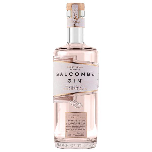 Salcombe - Rose Sainte Marie Gin bottle
