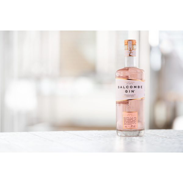 Salcombe - Rose Sainte Marie Gin_bottle-against-background