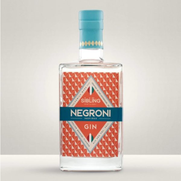 Sibling - Negron Gin bottle