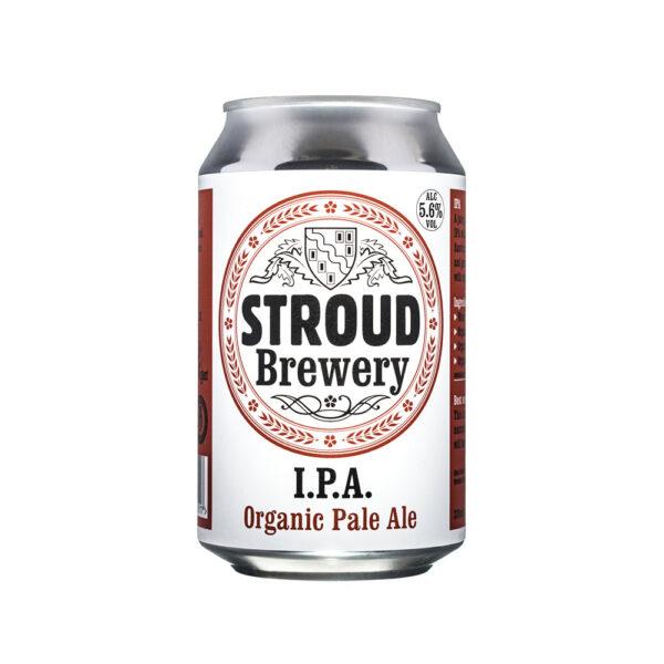 Stroud Organic IPA can