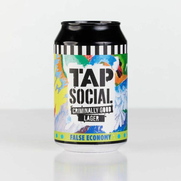 TAP Social False Economy Lager