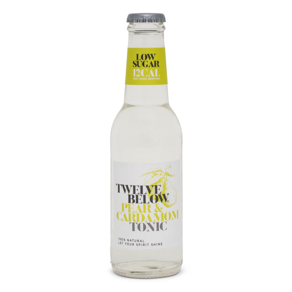 Twelve Below - Pear & Cardomom Tonic Water - 200ml bottle