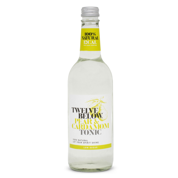 Twelve Below - Pear & Cardomom Tonic Water - 500ml bottle