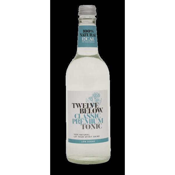 Twelve Below - Classic Premium Tonic Water - 500m bottle