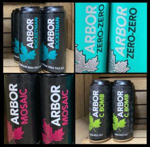 Arbor ales now available at BeerGinVino