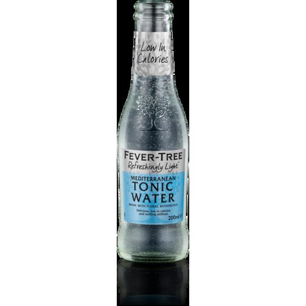 Fever Tree Refreshingly Light Mediterranean Tonic Water bottle