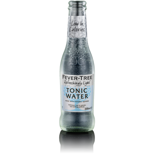 Fever Tree Refreshingly Light Tonic Water bottle