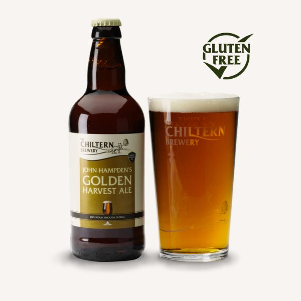 Chiltern Brewery John Hampden's Gold Harvest Ale bottle