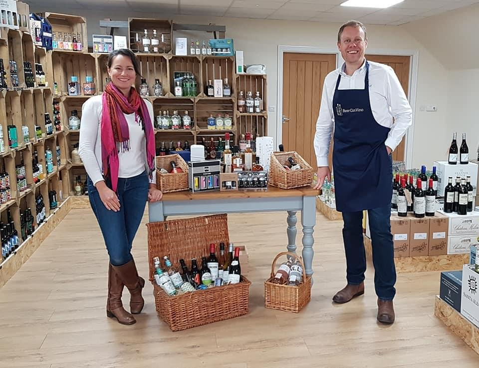 Kevin and Petra at The Hatchery, BeerGinVino