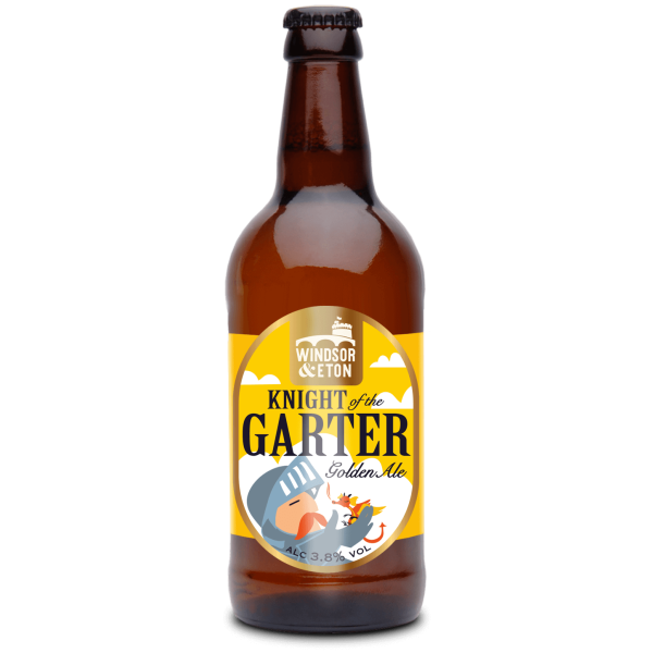 Knight of the Garter Golden Ale