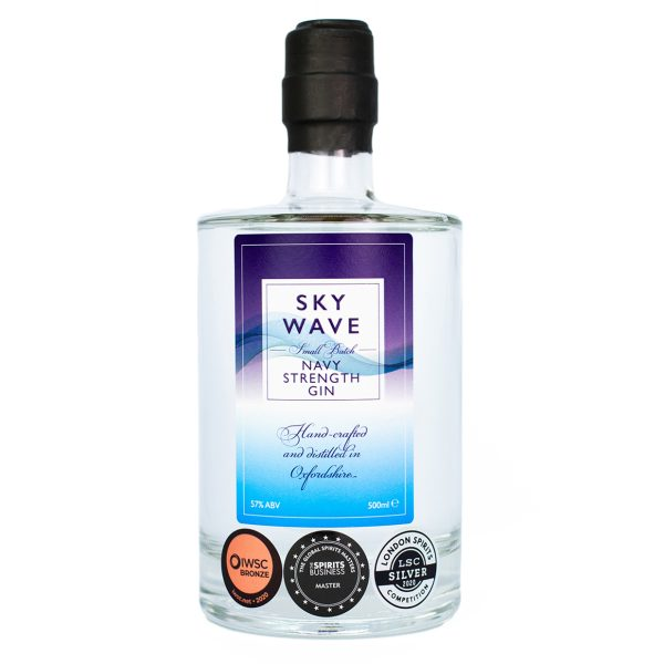 Sky Wave Navy Strength Gin