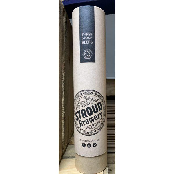 Stroud Brewery 3 Organic Beers Gift Tube