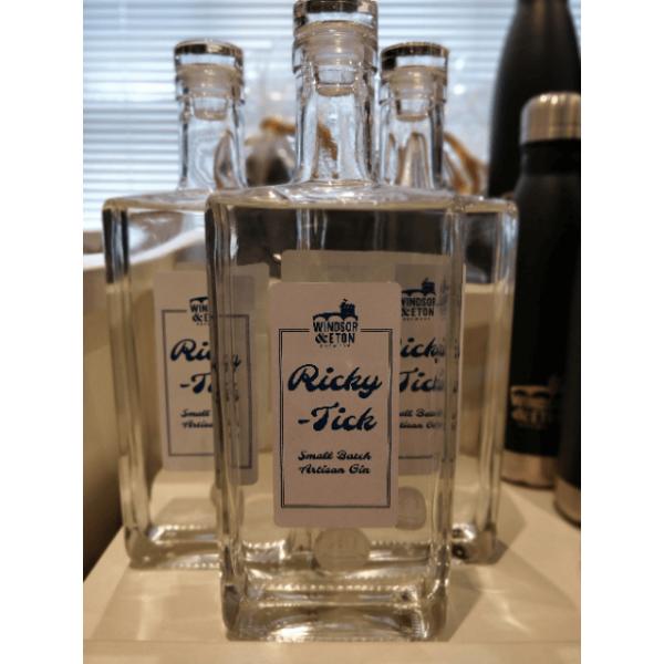 Ricky Tick Gin bottle