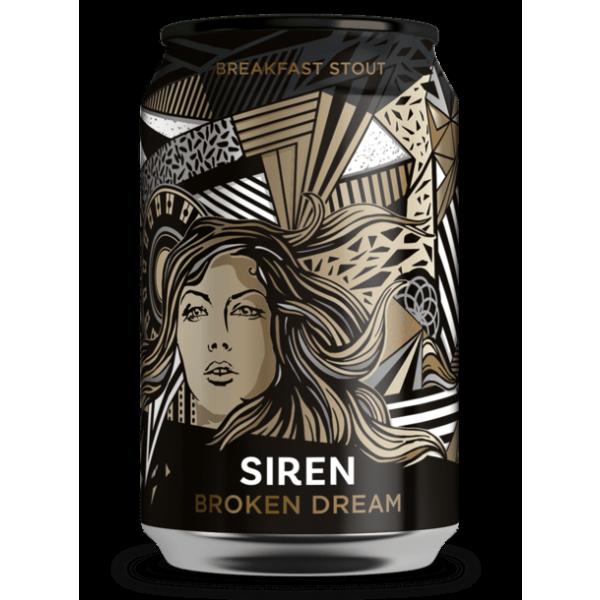 Siren craft brew broken dream can