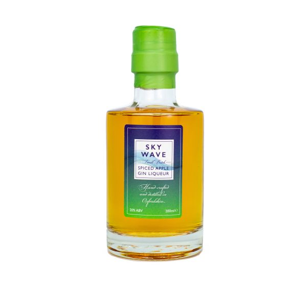 Sky Wave Spiced Apple Gin 200ml bottle