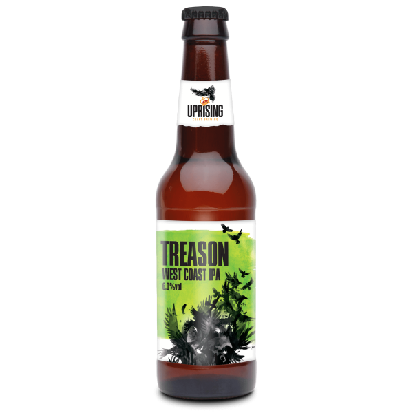 Treason West Coast IPA bottle