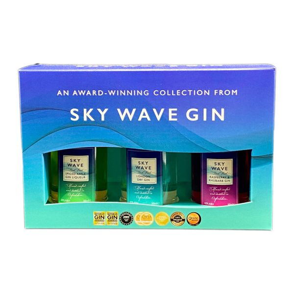 Sky Wave Gin Gift Box