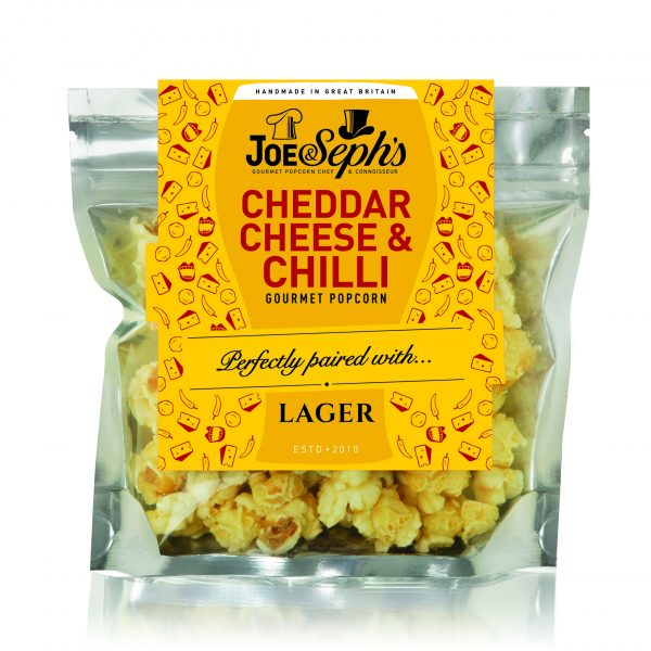 Cheddar Cheese and Chilli Popcorn