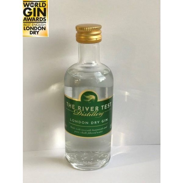 River Test Distillery London Dry Gin 5cl