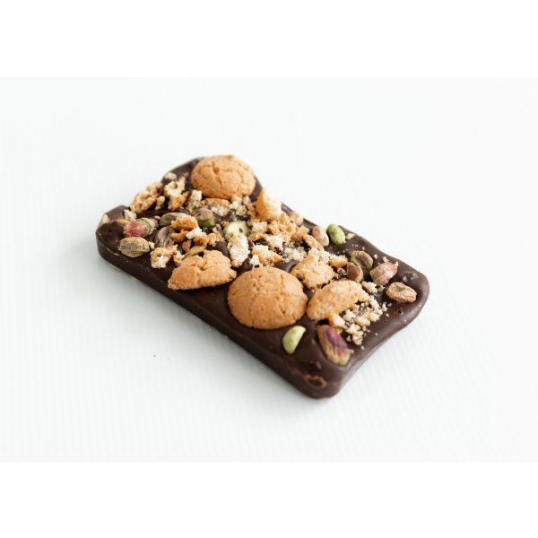 Dark chocolate Pistachio, Almond, Orange & Amaretti Biscotti
