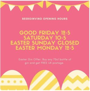 Easter at beerginvino