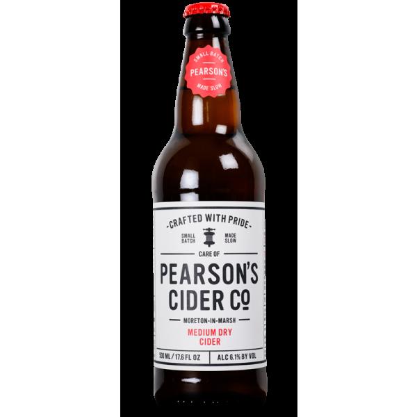 Pearsons Cider Co Medium Dry Cider 500ml