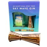 Sky Wave Liberation Gin 200ml and Jigger Gift Box
