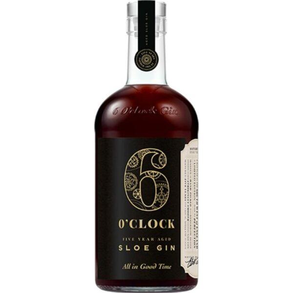 6 O clock Five Year Aged Sloe Gin