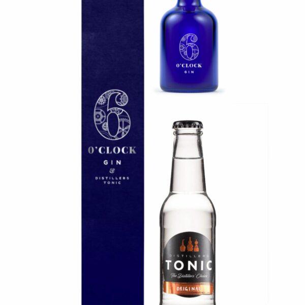6 Oclock Gin and Tonic Gift Box