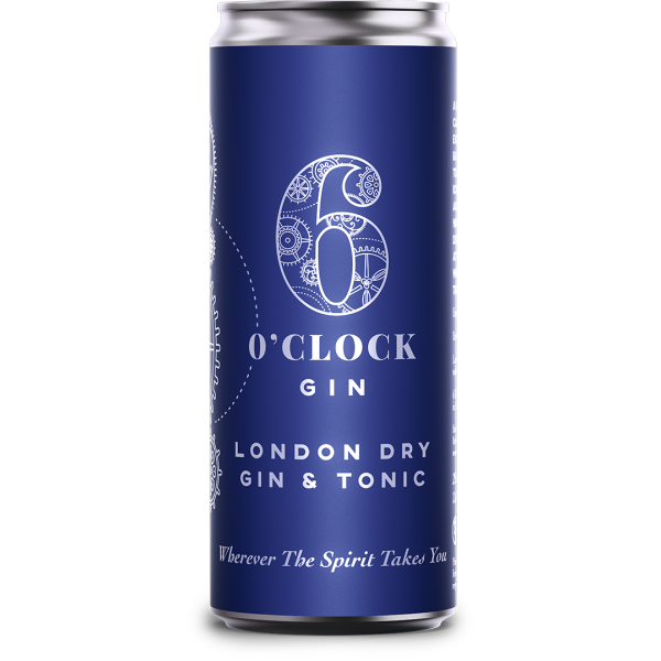 London Dry Gin and Tonic RTD
