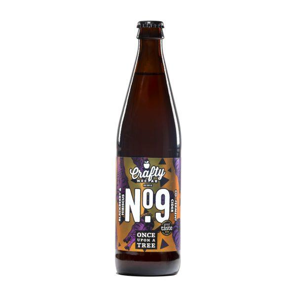 Crafty Nectar Blackberry and Hibiscus No 9 Cider 500ml