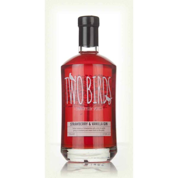 Two Birds Strawberry and Vanilla Gin 70cl