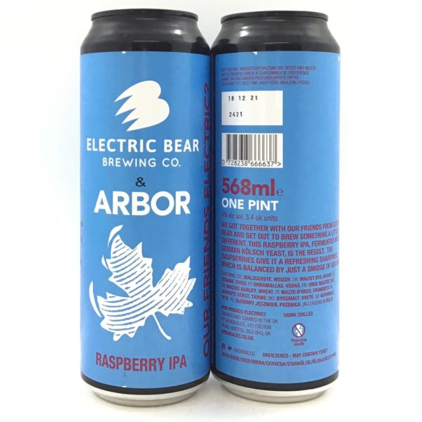 Arbor Our Friends Electric 568ml